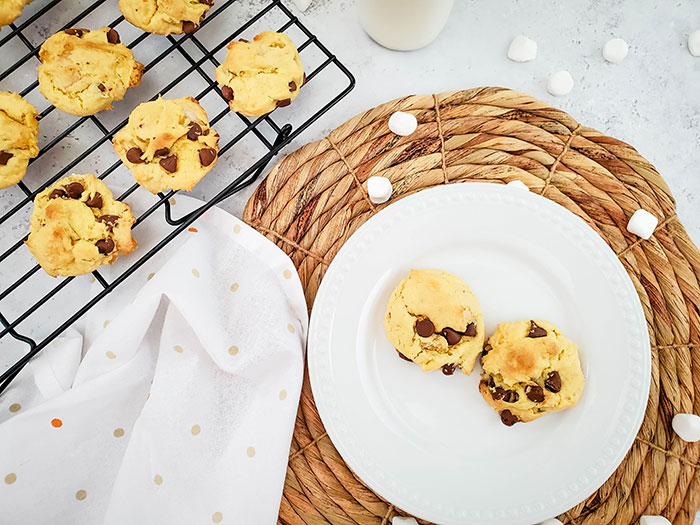 The Best S'mores Cookies With Cake Mix