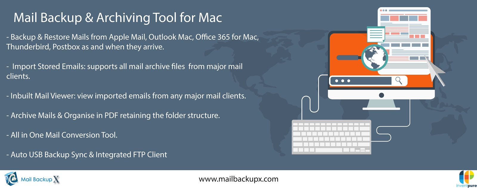Mac Mail Backup Application