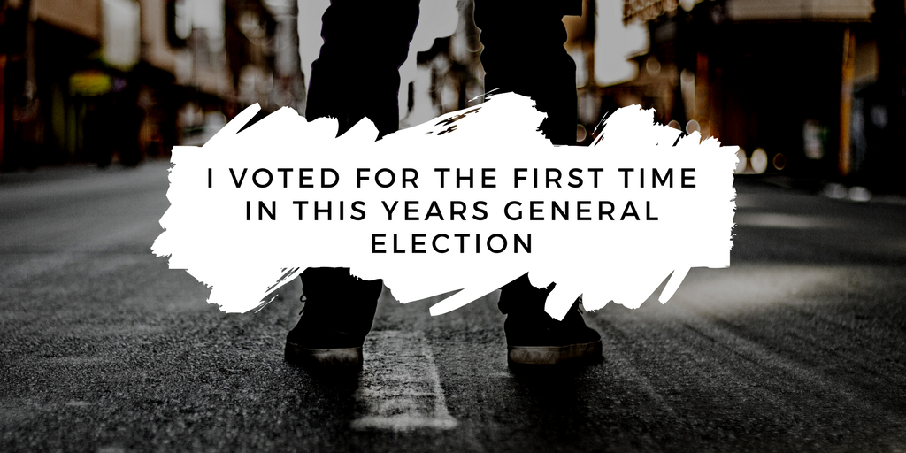 Young people voted for the first time