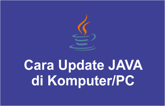 update java di laptop