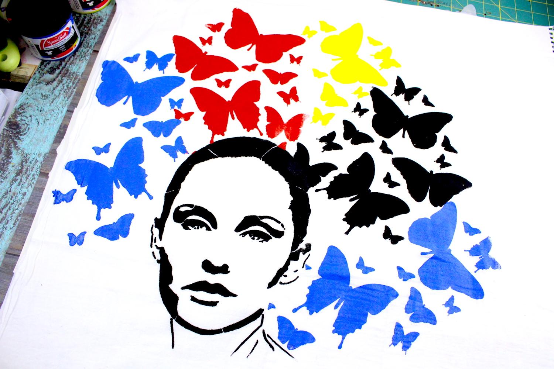 StencilGirl Talk: Nicole Austin: Screen Printing with ...