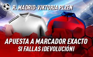 sportium Promo Real Madrid vs Pilsen 23 octubre