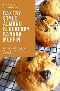A hint of almond brings out the flavors of these delicate and light blueberry and banana muffins.  - Slice of Southern
