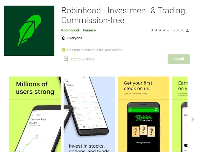 Robinhood App : Commission-free Investment & Trading