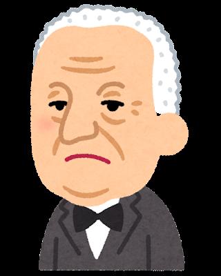 アントン・ブルックナーの似顔絵イラスト(音楽家)