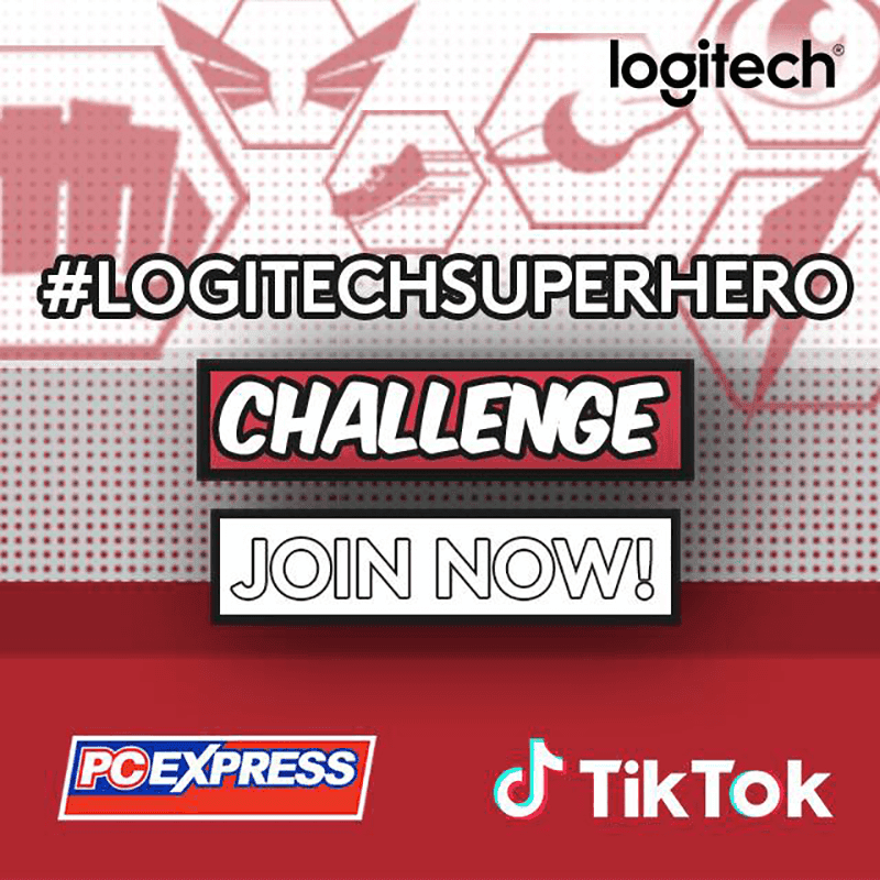 Logitech partners with TikTok for the #LogitechSuperhero Challenge