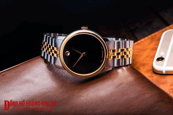 đồng hồ movado nam dây sắt
