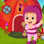 Games4King Cute Butterfly Girl Rescue