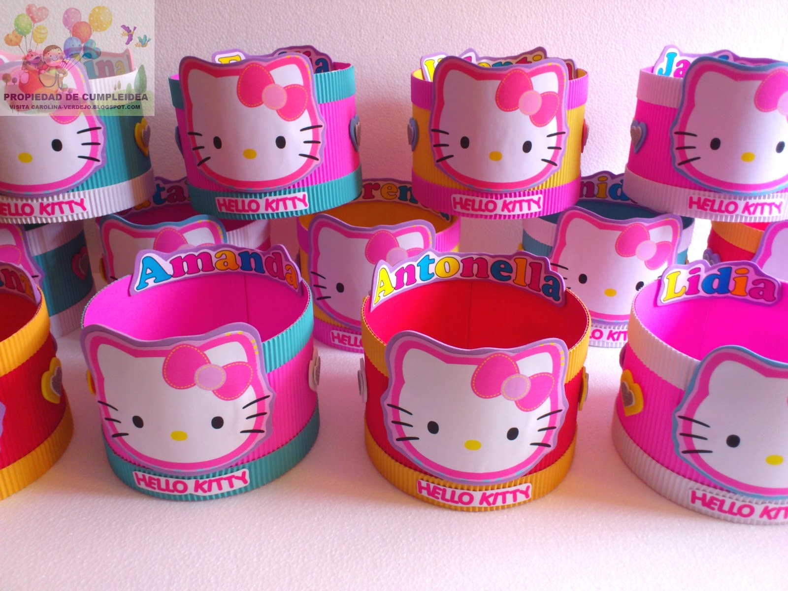 DECORACIONES INFANTILES: HELLO KITTY