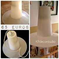 Comprar lámpara de plástico estilo retro online