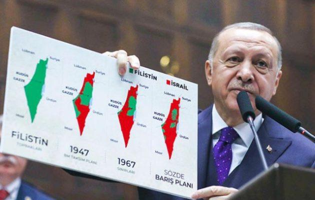 """Η """"ήσυχη τζιχάντ"""" του Ερντογάν, Δούρειος Ίππος εντός του Ισραήλ"""