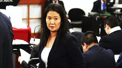 Fiscalía formalizó investigar a Keiko por asociación ilícita y falsedad genérica