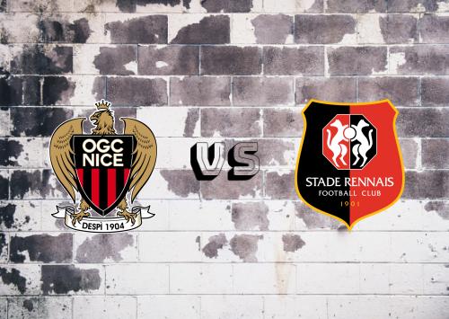 Nice vs Rennes  Resumen