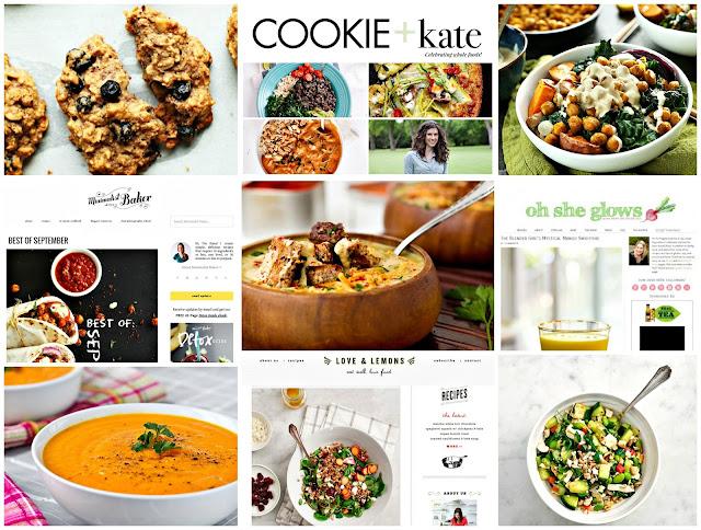 best healthy food vegan blogs