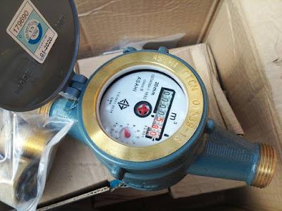 Điều chỉnh đồng hồ nước quay chậm tự nhiên