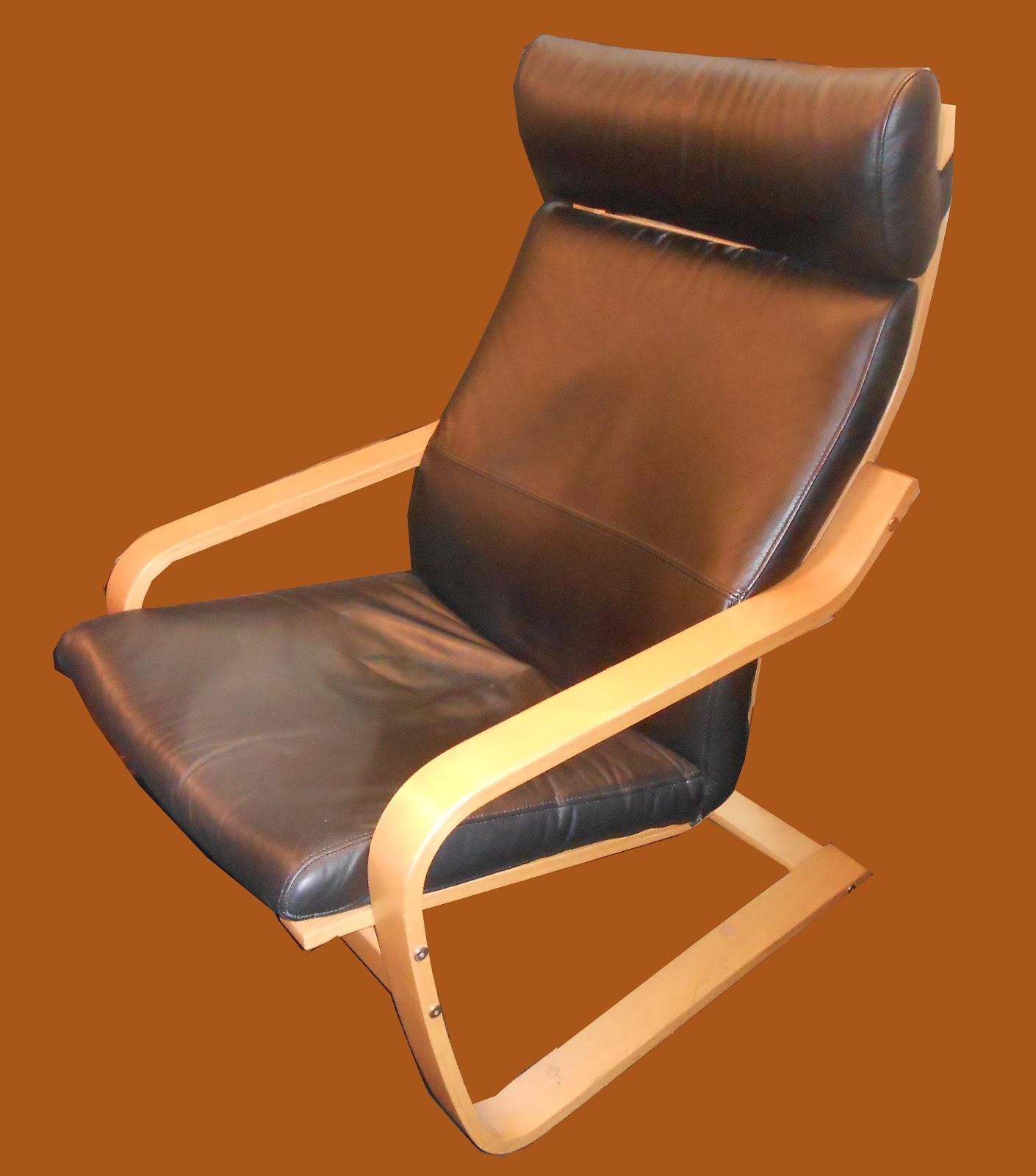 Uhuru Furniture Collectibles Ikea Poang Lounge Chair In
