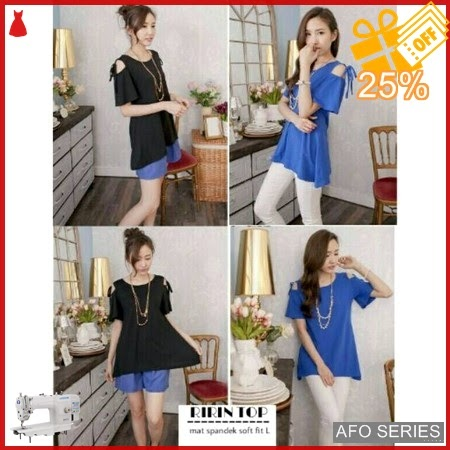 AFO699 Model Fashion Ririn Top Modis Murah BMGShop