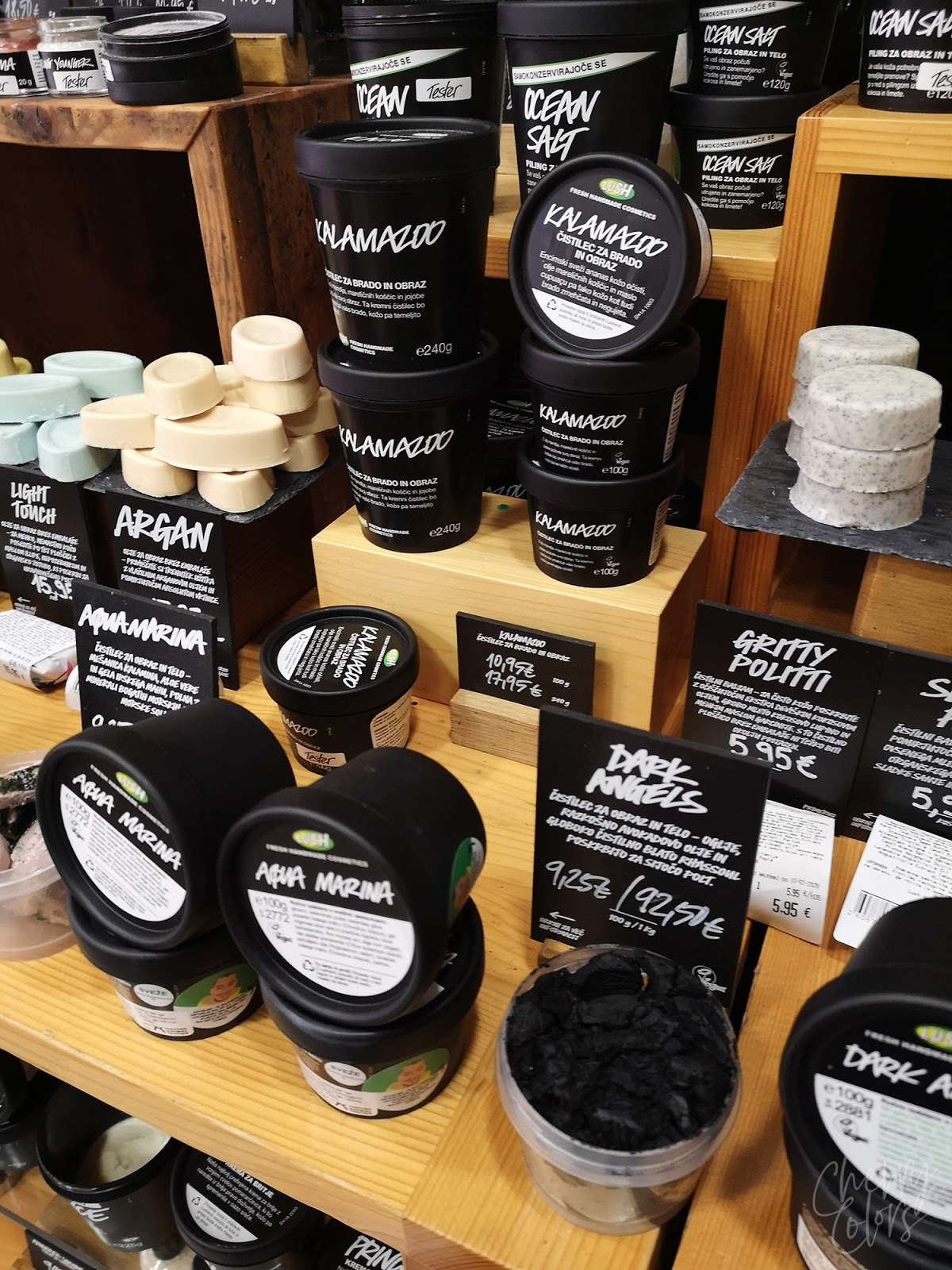 Lush face products
