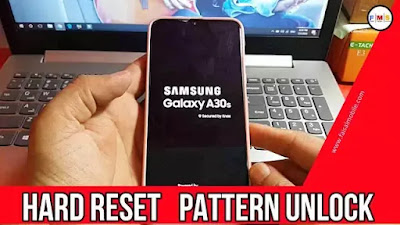 Samsung Galaxy A30S Hard Reset,Pattern Unlock Easy Method