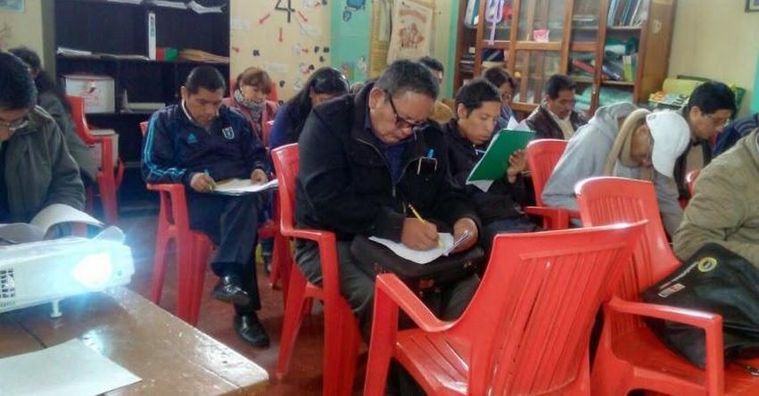MINEDU: Fortaleciendo capacidades de los docentes para mejorar los aprendizajes de los estudiantes de Junín - www.minedu.gob.pe