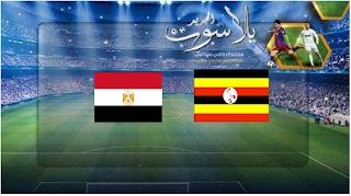 نتيجة مباراة مصر وأوغندا اليوم 30-06-2019 قناة تايم سبورت كأس الأمم الأفريقية