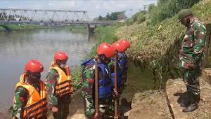 Dansektor 7 Satgas Citarum Pimpin Pelatihan Penanggulangan Bencana Alam Dan Evakuasi