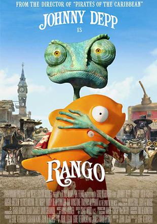 Rango 2011 BRRip 720p Dual Audio In Hindi English