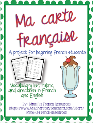 Check out this great way to bring real-life learning into your beginning French classroom!  Click here to see a blog post about how to use this and more in your class!