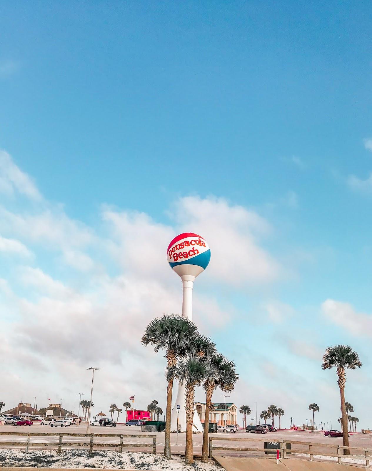 Pensacola Beach Ball Tower
