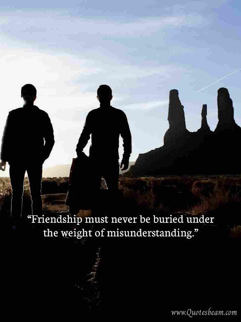 Friends Misunderstanding Quotes