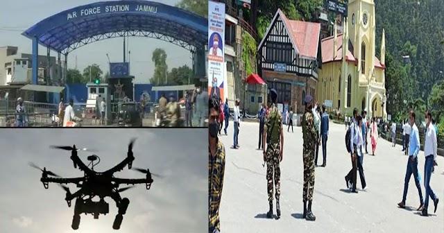 जम्मू में आतंकी अटैक के बाद हिमाचल अलर्ट: सड़कों पर उतरे सेना के जवान; रिज की सुरक्षा बढ़ी