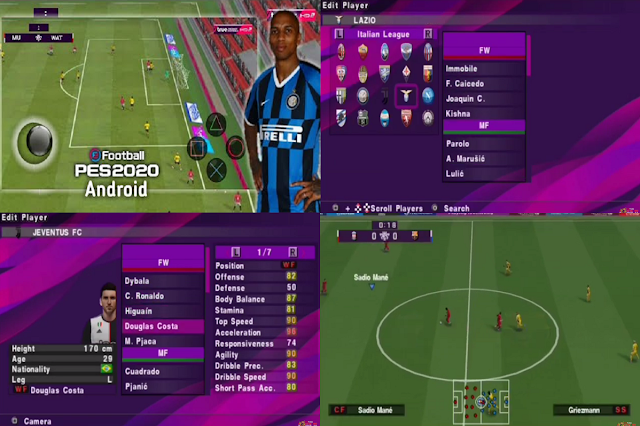 JBW PES 2020 Full Transfer & Jersey 2020 HD