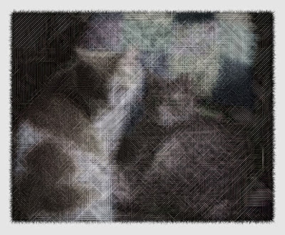 An example image of the two cats that manipulate with this code.