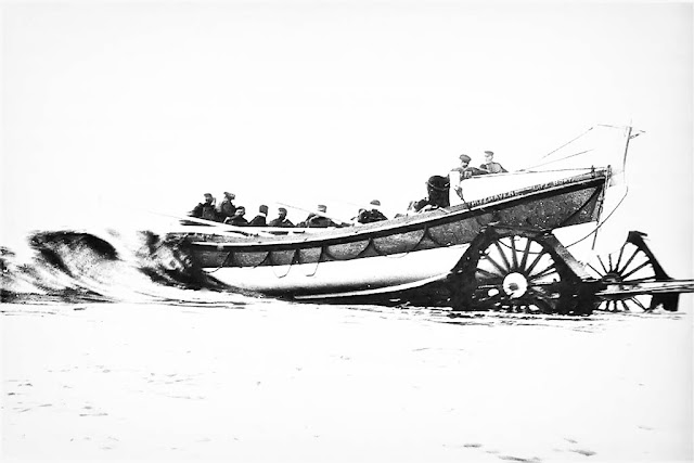 Test Launch Of The Whitehaven Lifeboat c1900