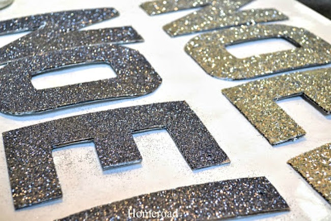 Glittered Holiday Letters