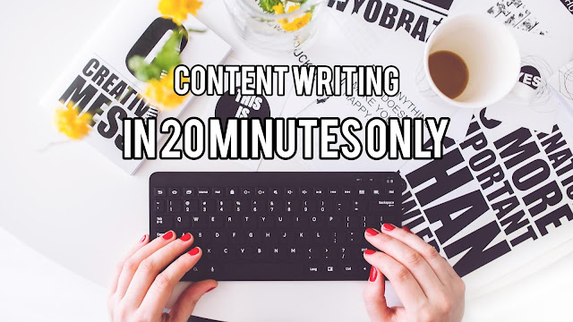 Effective content writing