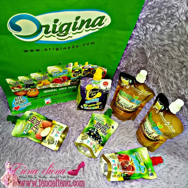 Jus Origina dan Chocojoy Chocolate Milk