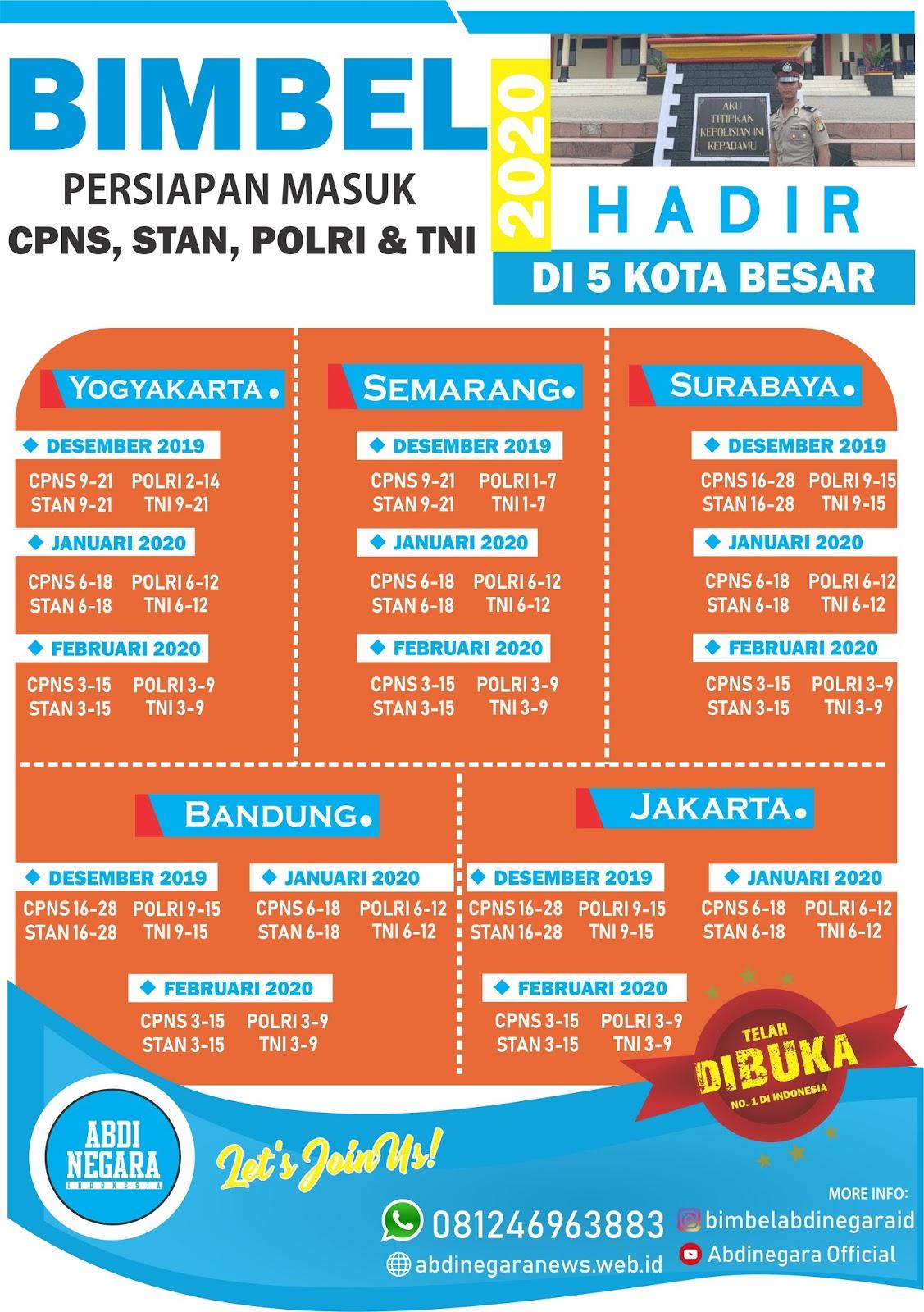 Bimbel CPNS STAN TNI Polri