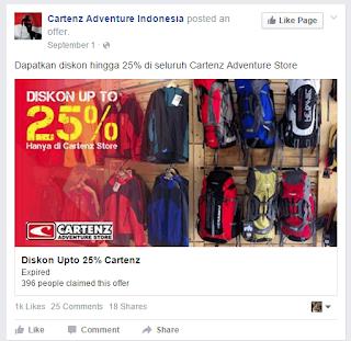 contoh iklan produk tas