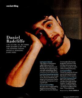 People magazine interview (US)
