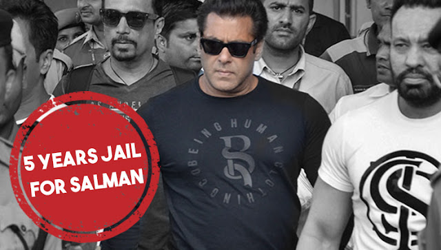 Salman Got five year Jail