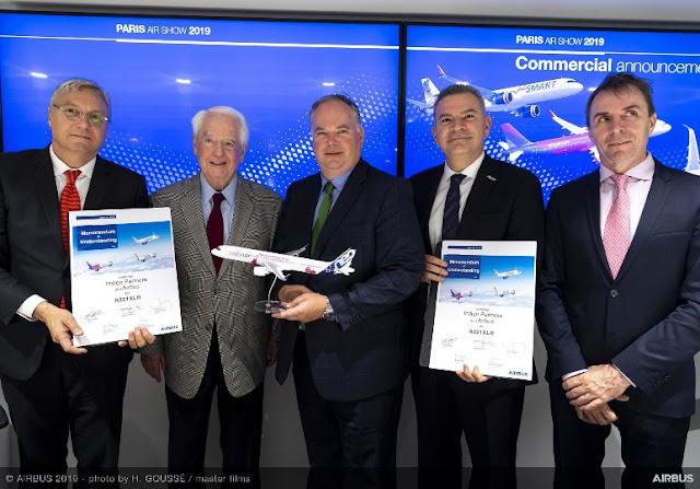JetSMART cierra acuerdo para la compra de 12 aeronaves del nuevo Airbus A321XLR, que permitirá operar vuelos low-cost de larga distancia