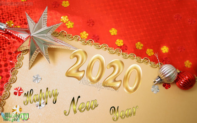 Happy New Year 2020 Golden Wallpapers