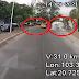 Video: Una pipa que perdió el control y derrapo fue captada mientras vuelva y se lleva a una pipa en el camino en Zapopan, Jalisco