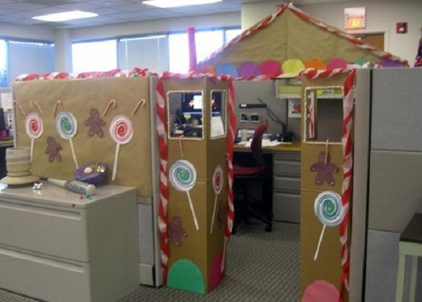 Office Christmas Decoration Ideas Themes Office Christmas