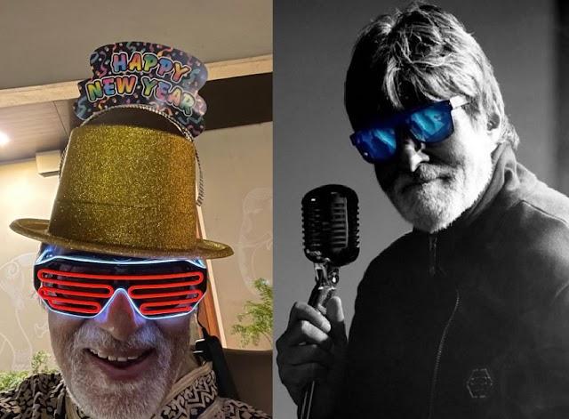 Amitabh Bachchan ने सिर में हैट लगाकर कुछ इस अंदाज में दी अपने फैंस को साल 2021 की बधाई, देखे तस्वीर