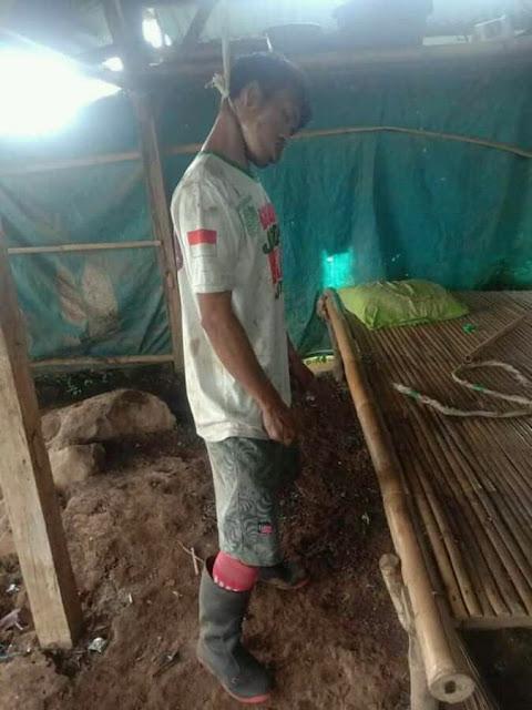 Seorang Laki-Laki di Pringgabaya Lombok Timur Tewas Gantung diri di Ladang
