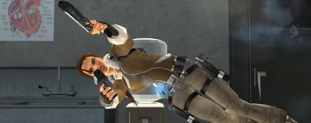 Tomb Raider Legend Pistolas Duales Armas Icónicas