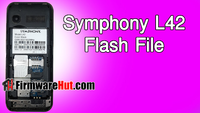 Symphony L42 Flash File SC6531E Tested (Stock Official Rom)