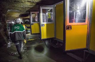 На шахте «Эстония» построена первая в стране подземная сеть мобильной 3G-связи